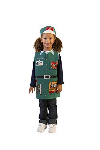 Dexter Bildungs-Spielzeug dex115Bus Driver Kostüm, 2,5cm Höhe, 2,5cm Breite, 2,5cm Länge