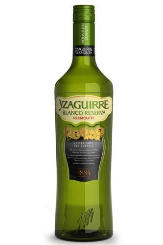 Yzaguirre Vermouth Blanco Reserva - 3 botellas x 1000 ml - Total: 3000 ml