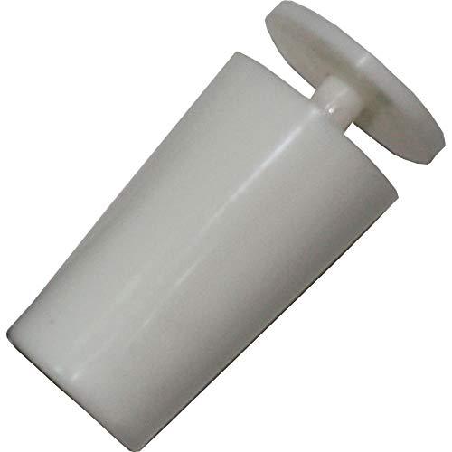 Future 23105 Tope Persiana, Blanco, 40 mm, 2 unidades