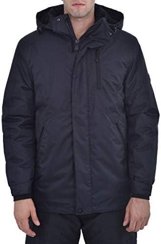 Swiss Alps Mens Insulated Waterproof Performance Winter Ski Jacket Coat Black L product image