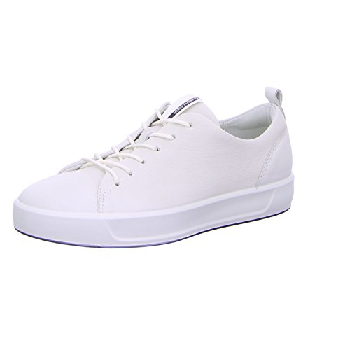 ECCO Soft 8 Ladies, Zapatillas Mujer, Weiß 1007white, 38 EU