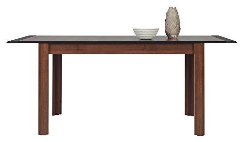 Furniture24_eu Tisch Naomi Esstisch Ausziehbar (Nußbaum/Wenge)