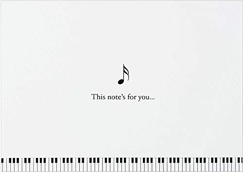 Music Note Cards (Stationery, Boxed Cards)