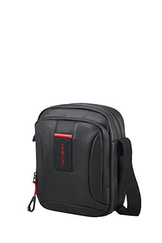 Samsonite CROSS-OVER S (BLACK) -PARADIVER LIGHT  Bolso bandolera, Negro (Black)