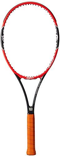 Wilson Pro Staff - Raqueta, Color Rojo/Negro, Talla 3