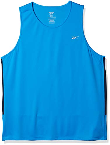 Reebok Running Essentials Speedwick Singlet, Horizon Blue, X-Large