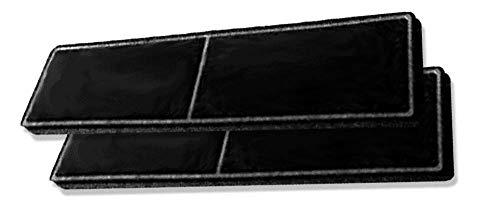 Ersatzfilter für Miele 9438930 - Geruchsfilter DKF 20-1 mit Aktivkohle - passend für Dunstabzugshauben DA2806/DA2808/DA2900/DA2905/DA2906/DUU2900/DUU1000-2 Stück