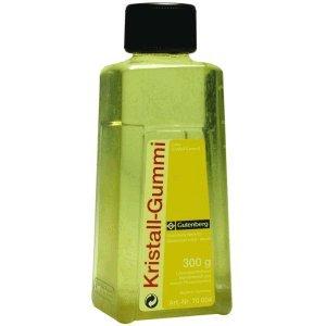Gutenberg Kristall-Gummi Nachfüllpack 300g (Flasche)
