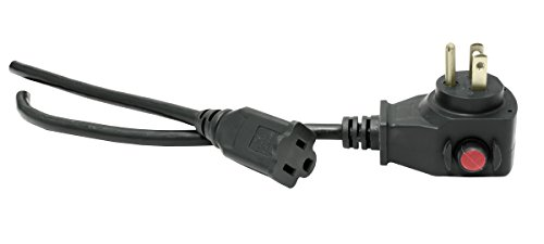 Power All - Extension Cord with Circuit Breaker - 125V   15 ft.   16 Gauge - Moisture Resistant, Flexible, and Durable for Outdoor / Indoor Use