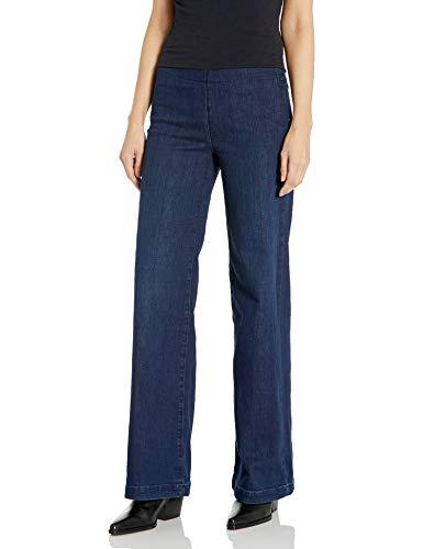 NYDJ Damen Pull ON Wide Leg Jeans, Clean Denslowe, 50
