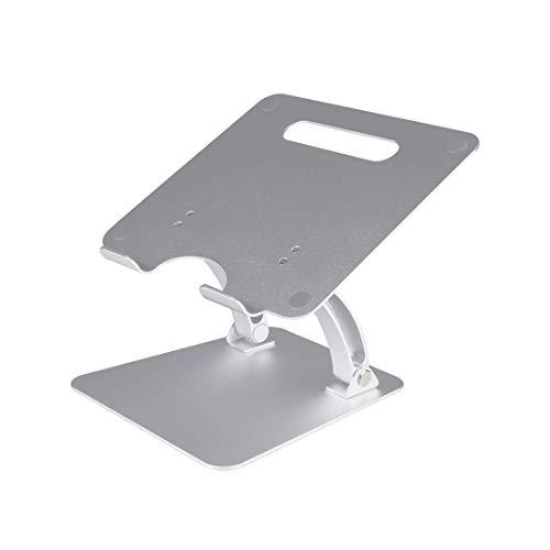 Supporto per laptop impilabile Van Hoge Kwaliteit in alluminio con supporto per MacBook da 10 a 15,6 pollici, laptop, notebook, Chromebook, tablet e iPad.