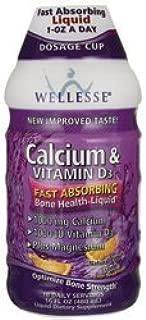 Calcium with Vitamin D3 Liquid by Wellesse