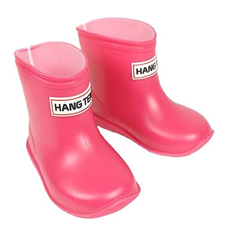 Baby Kids Easy On Rain Shoes Boots for Toddler Little Kid [Made in Japan]