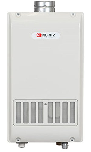 Noritz NR98SVNG Indoor Only Tankless Hot Water Heater, Single Wall Vent, max. 199,900 Btuh, 9.8 Gpm - Natural Gas