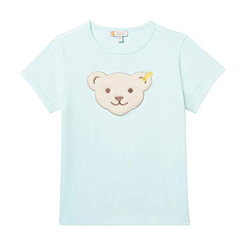 Steiff T- Shirt, Turquoise (Blue Light 5008), 86 Bébé Fille