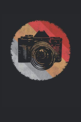 "Cámara de película vintage: Cuaderno rayado de 6 ""x 9"". Planificador para fotógrafos |Fotografía |Cámara |Cámara de cine |notas"