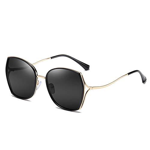 NBJSL Gafas De Sol Polarizadas Para Mujer, Protección Ultravioleta, Montura De Gran Tamaño De Moda (Caja De Embalaje Exquisita)