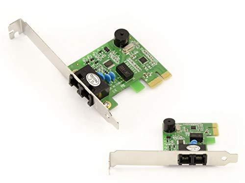 Kalea-Informatique © - Scheda Controller PCIE FAX MODEM 56K Su Porta PCI Express 1X (PCI-E) - Chipset CONEXANT CX95610