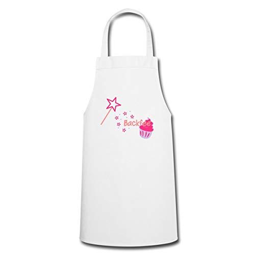 Spreadshirt Backen Backfee Kochschürze, Weiß