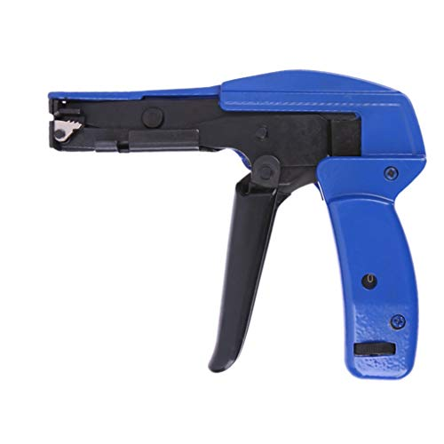 Mengshen Pistola Para Bridas De Cables, Herramienta De Corte Y Bloqueo De Amarre De Cable, 7 Pulgadas De Largo