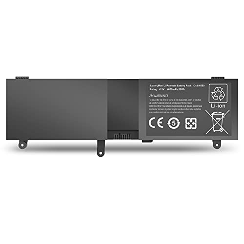 BatteryMon C41-N550 Battery Replacment for Asus Rog N550 N550J N550JA...