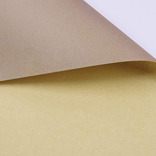 C-J-Xin Papel Kraft Bicolor, Tienda de Flores, Material de Embalaje, Papel de Envolver, Papel Hecho a Mano, Papel Decorativo de la Pared de Origami, 20pcs Papel de Regalo (Color : #8)