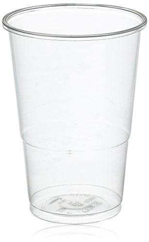 Mical Vaso Transparente plástico 330cc 100u, 100 Unidades