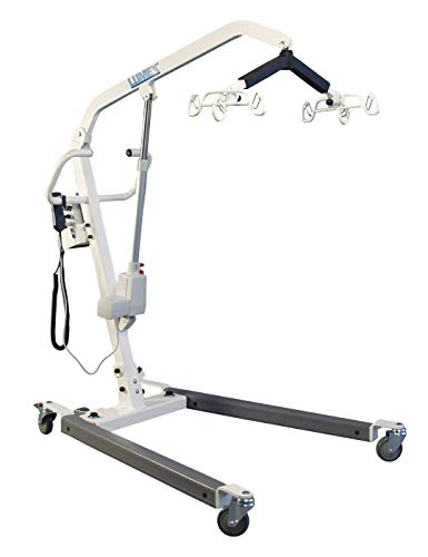 Lumex Battery-Powered Bariatric Patient Lift, 600lb Weight Capacity, LF1090
