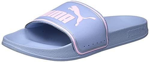 PUMA LEADCAT FTR JR Schiebe-Sandalen, Forever Blue Pink Lady, 39 EU