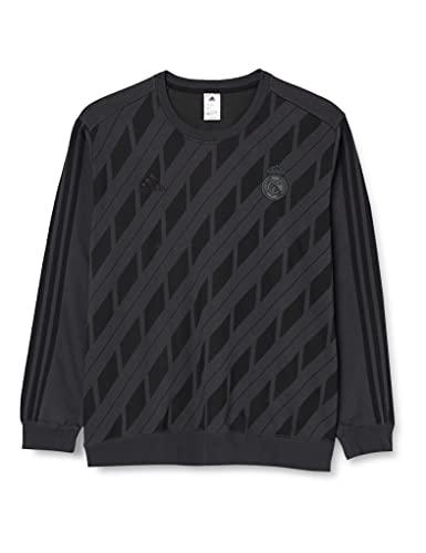 adidas Real Madrid SSP CW SWT T-Shirt Homme, Grigio (Gripur/Nero), XXL