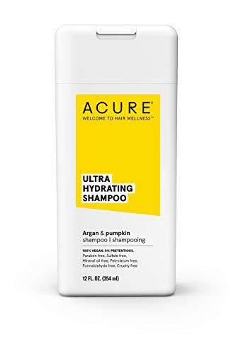 ACURE Ultra Hydrating Shampoo | 100% Vegan | Performance Driven Hair Care | Argan & Pumpkin - Ultra Hydrating Moisture & Omega Fatty Acids | 12 Fl oz