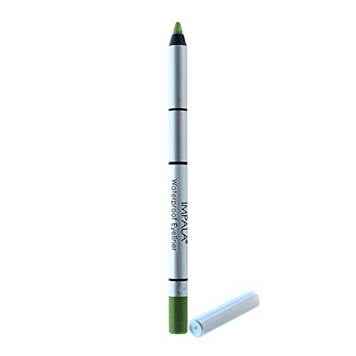 Impala - Lápiz de ojos waterproof cremoso Color Verde pistacho Nº304 duradero