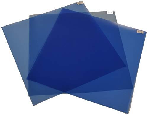 Filterset Farbkorrektur CTB (24cmx30cm) Kunstlicht (Glühlicht) zu Tageslicht -Rosco