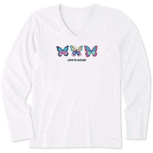 Life Is Good - Trituradora para Mujer, Mujer, 64993, Blanco Nube, XL