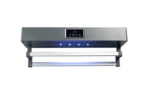 QIANLI Toallero Eléctrico con Calefacción, Desinfección UV y Secado de Aire Caliente,Calentador...