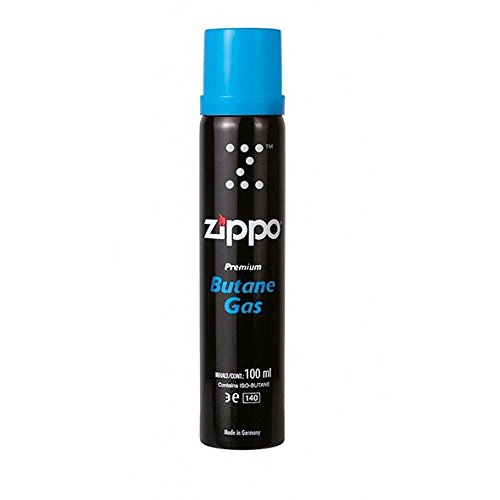 Zippo Hochqualitatives Premium Feuerzeuggas Butan Gas 100ml Dose