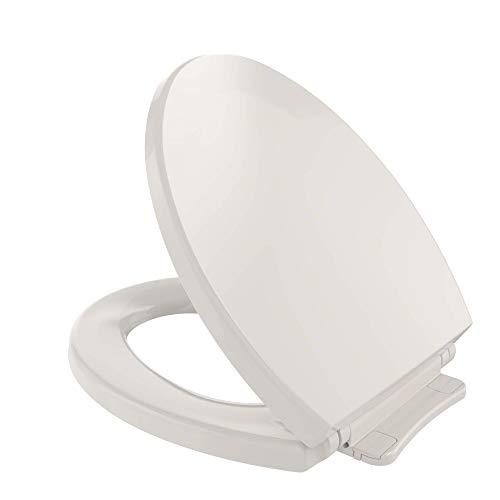 Transitional SoftClose Round Toilet Seat, Sedona Beige - 1