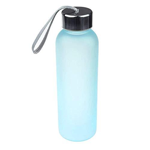 New Leak Tight Fruit Juice Sport Botella de viaje portátil Taza de agua 600ML