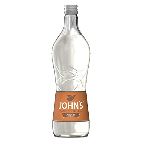 Johns Amaretto Sirup für Cocktails 0,7l