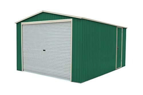 Garaje Metálico Gardiun Essex (Verde) 19, 52 m² Ext