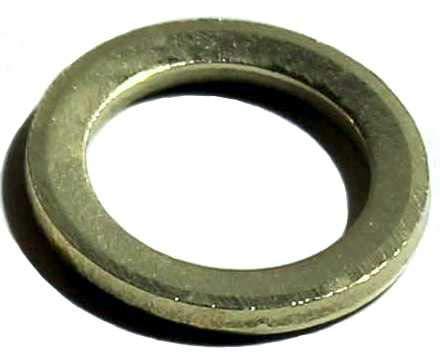 20 Stück Fitschenringe Ø 11 mm, Stahl vermessingt, Fitschenring Maße: 11,2 x 15,8 x 1,8 mm