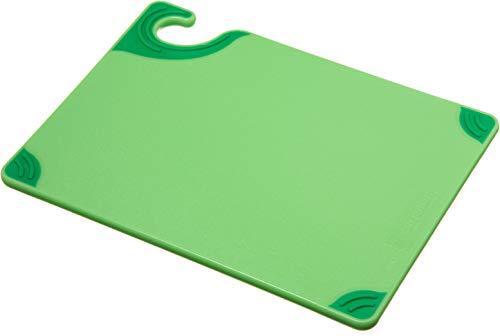 San Jamar Cutting Board, Green, 12 x 9 in. (CBG912GN)