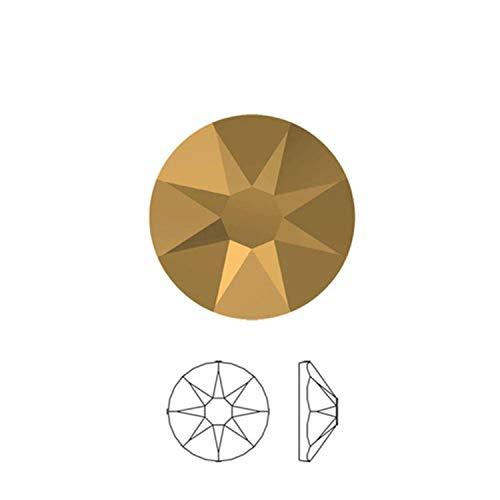 2088HF Diamante Element 8 Big 8 Small Iron on Hotfix Tape Rhinestones para Ropa Cristales DIY Decoración Vestido de Novia