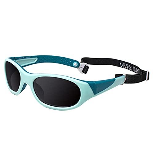 WOJING 3-7 años niños Gafas de Sol niños niñas bebé Infantil TPE Gafas de Sol UV400 Gafas de Gafas Sombras Gafas