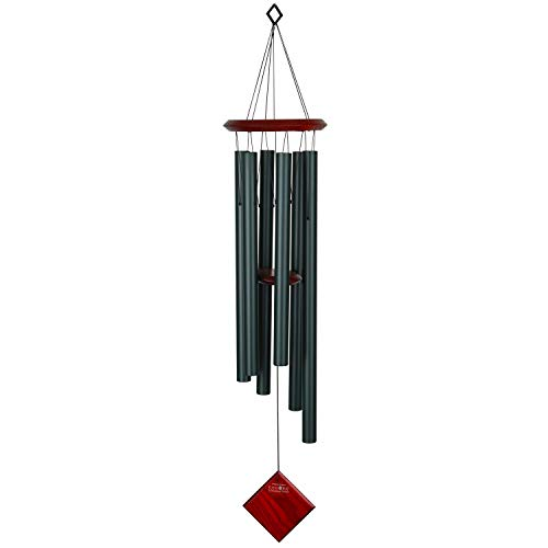 Woodstock Chimes Chimes of Earth – immergrün, Dunkelgrün (Evergreen), 37x11x11 cm