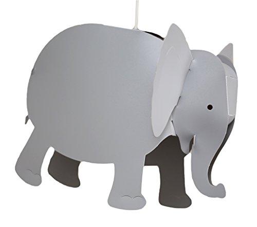 R & M Coudet plafondlamp kinderkamer olifant grijs.