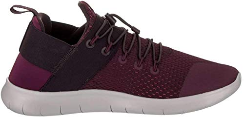 Nike Mens Free Rn CMTR 2017 Low Top Bungee, Bordeaux/Port Wine-White, Size 11.5