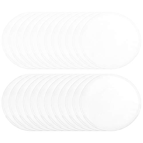 Flying Disc,24 Pcs Folding Pocket Toy Set Foldable Flying Disc Beach Frisbee with Storage Bag for Kids Boys Girls Party Favors Outdoor Activity Playing Lawn Game,White