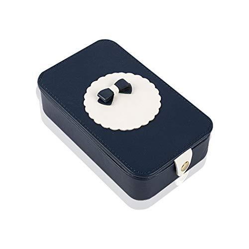 GZ-Boîte de Rouge à lèvres boîte de Maquillage Portable boîte de glaçure des lèvres boîte de Rangement cosmétique boîte à Bijoux Bague boîte Rouge à lèvres avec Miroir