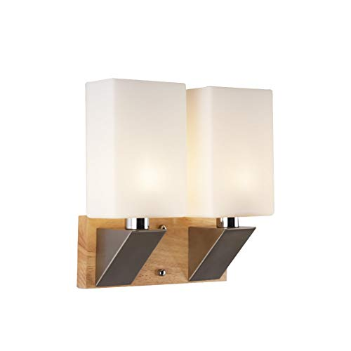 Moderne led-wandlamp, wandlamp, wandlamp, trapverlichting, decoratief bedlampje, binnen up-down lights glas crystal slaapkamer binnen modern Vanity Home Lighting